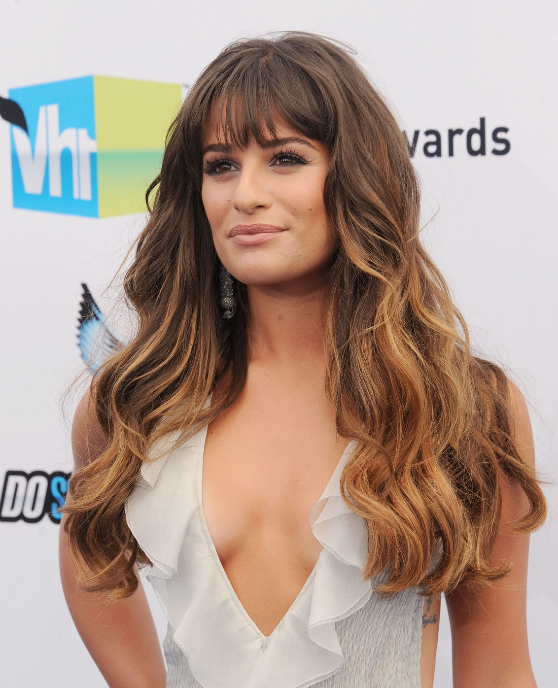 style long hair with bangs